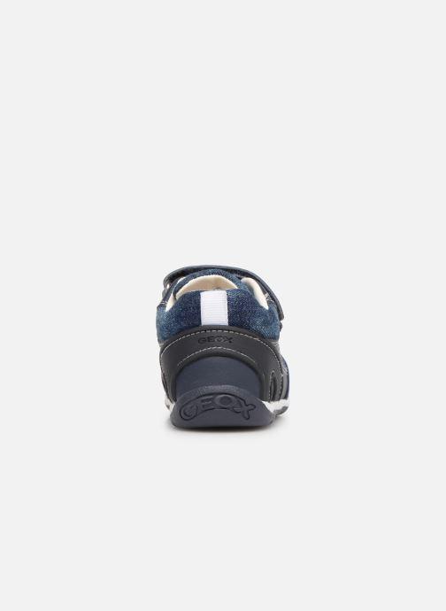 Sneaker Geox B Each Boy B920BD blau ansicht von rechts
