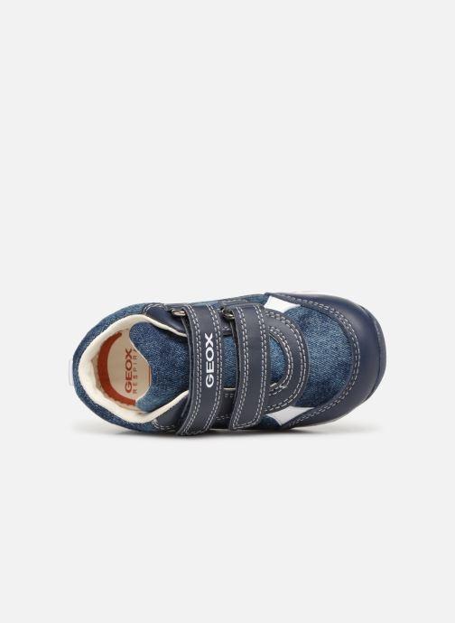Sneaker Geox B Each Boy B920BD blau ansicht von links