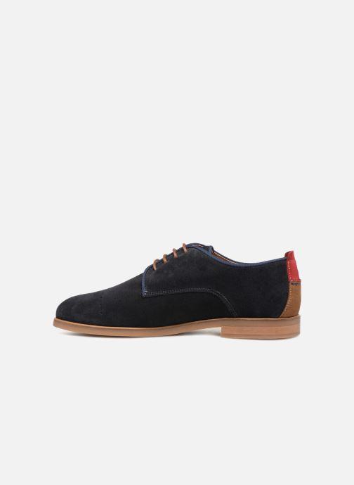 Chaussures à lacets Faguo Rosh Bleu vue face