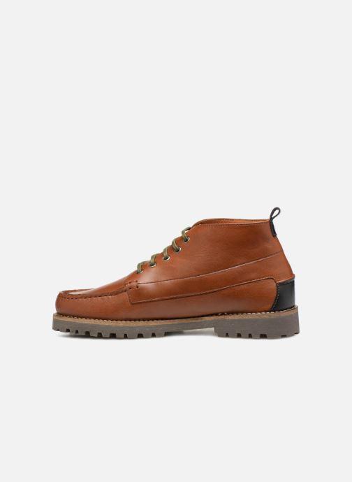 Boots en enkellaarsjes Faguo Larchmid Bruin voorkant