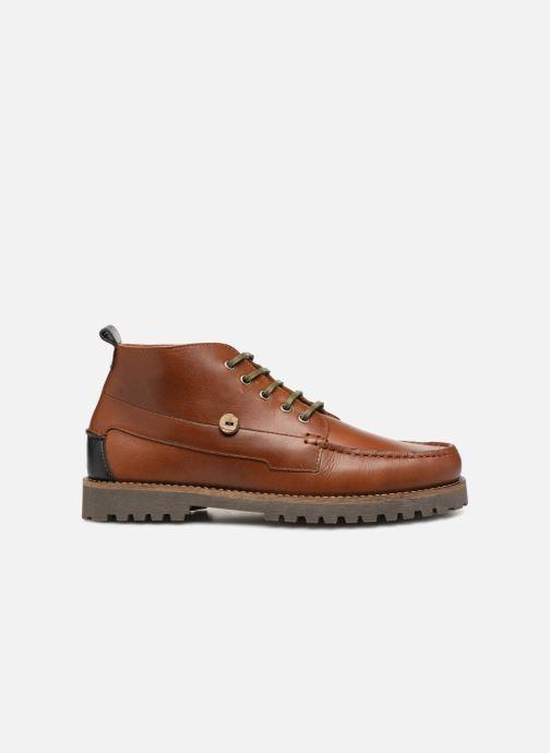 Boots en enkellaarsjes Faguo Larchmid Bruin achterkant