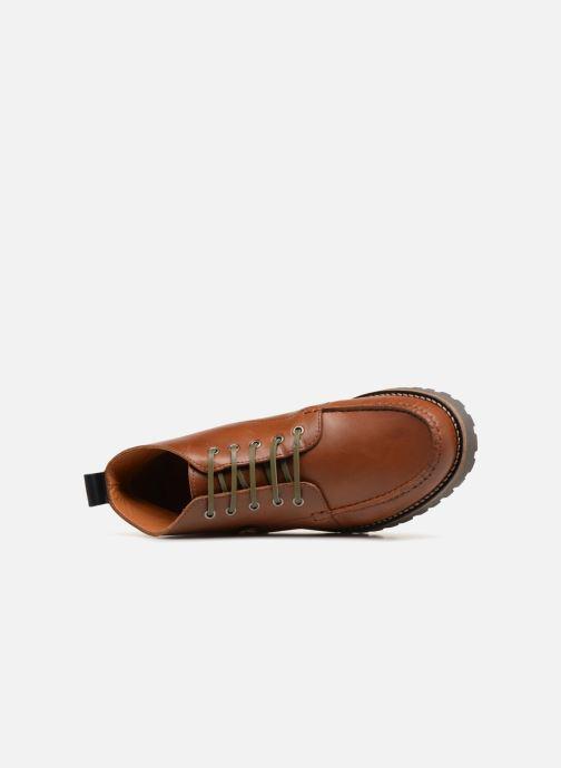 Bottines et boots Faguo Larchmid Marron vue gauche
