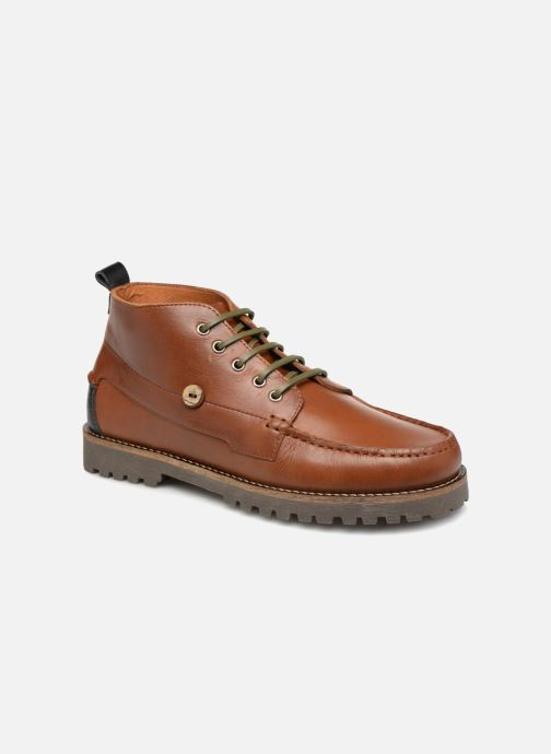 Boots en enkellaarsjes Faguo Larchmid Bruin detail