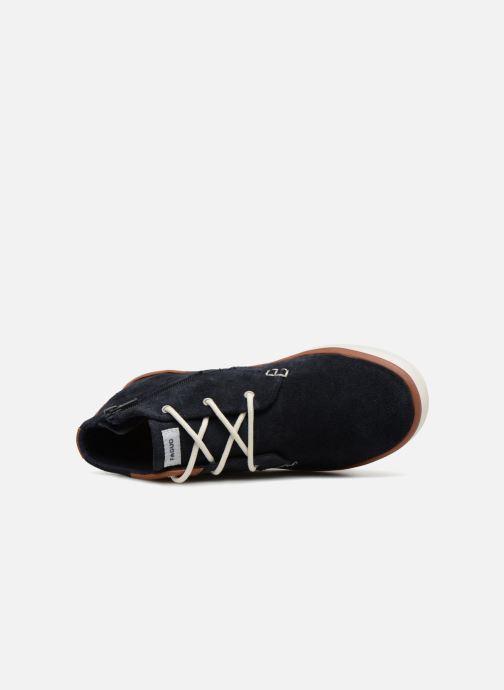 Sneaker Faguo WattleL blau ansicht von links