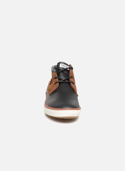 Baskets Faguo WattleL32 Noir vue portées chaussures