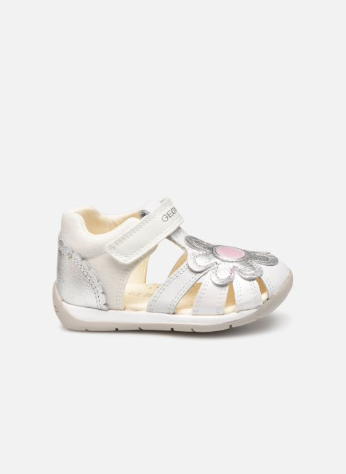 Sandals Geox B Each Girl B920AA White back view