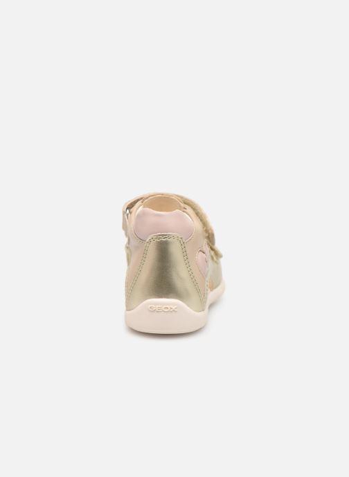 Sandali e scarpe aperte Geox B Kaytan B9251A Oro e bronzo immagine destra