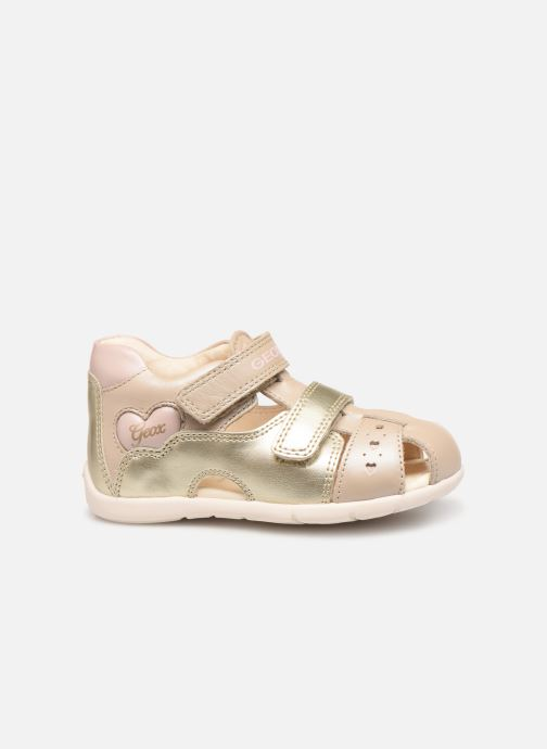 Sandals Geox B Kaytan B9251A Bronze and Gold back view