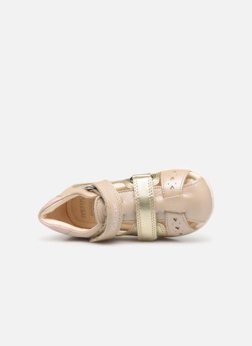 Sandali e scarpe aperte Geox B Kaytan B9251A Oro e bronzo immagine sinistra