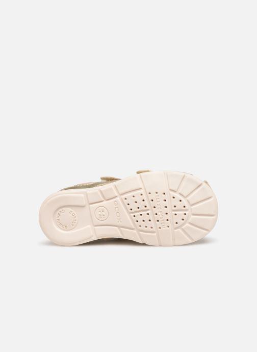 Sandali e scarpe aperte Geox B Kaytan B9251A Oro e bronzo immagine dall'alto