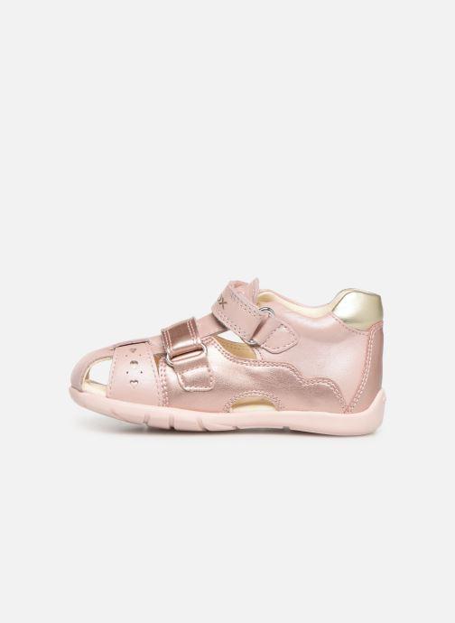 Sandaler Geox B Kaytan B9251A Pink se forfra