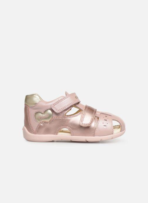Sandals Geox B Kaytan B9251A Pink back view