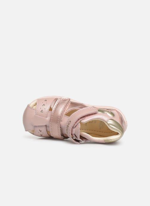 Sandaler Geox B Kaytan B9251A Pink se fra venstre