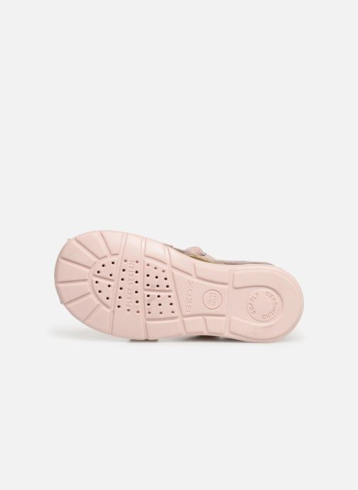 Sandals Geox B Kaytan B9251A Pink view from above