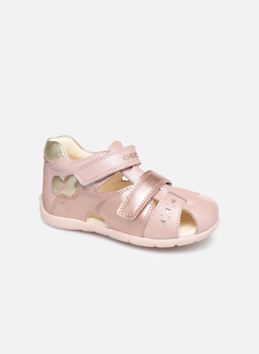 Sandaler Geox B Kaytan B9251A Pink detaljeret billede af skoene