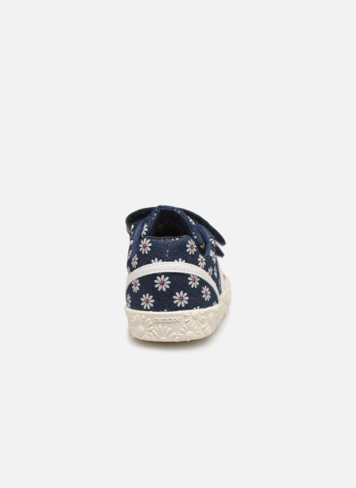 Sneakers Geox B Kilwi Girl B92D5E Blauw rechts
