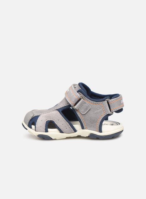 Sandales et nu-pieds Geox B Sandal Agasim Boy B921AC Gris vue face