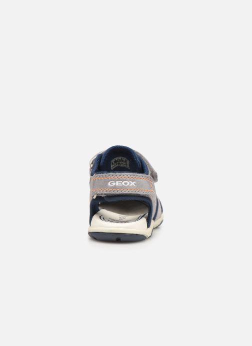 Sandales et nu-pieds Geox B Sandal Agasim Boy B921AC Gris vue droite