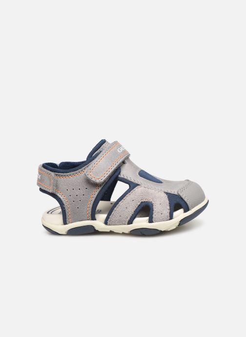 Sandales et nu-pieds Geox B Sandal Agasim Boy B921AC Gris vue derrière
