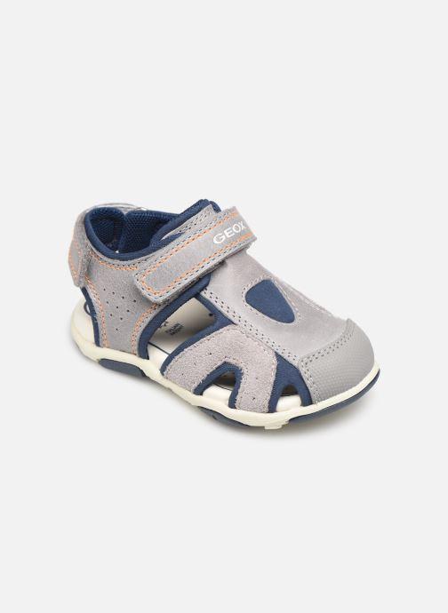 Sandales et nu-pieds Geox B Sandal Agasim Boy B921AC Gris vue détail/paire