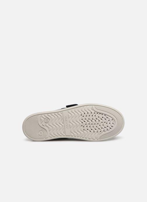 Chaussures à scratch Geox J Djrock Boy J925VC Bleu vue haut