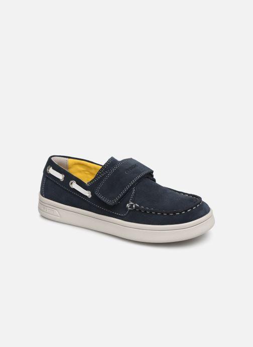 089259b5c6c Sko med velcro Geox J Djrock Boy J925VC Blå detaljeret billede af skoene