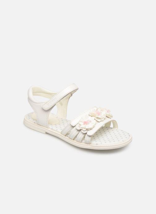 Sandales et nu-pieds Geox J Sandal Karly Girl J9235D0 Blanc vue détail/paire