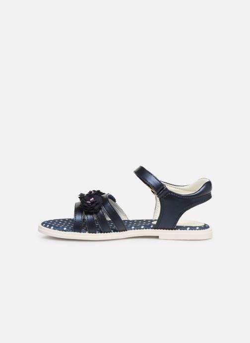 Sandales et nu-pieds Geox J Sandal Karly Girl J9235D0 Bleu vue face