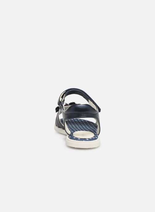 Sandales et nu-pieds Geox J Sandal Karly Girl J9235D0 Bleu vue droite