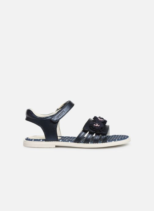 Sandales et nu-pieds Geox J Sandal Karly Girl J9235D0 Bleu vue derrière