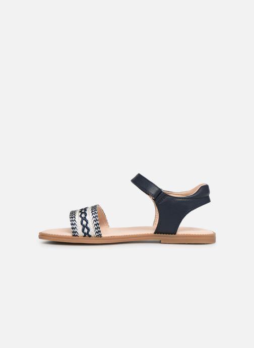 Sandales et nu-pieds Geox J Sandal Karly Girl J9235G Bleu vue face