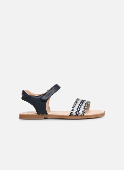 Sandales et nu-pieds Geox J Sandal Karly Girl J9235G Bleu vue derrière