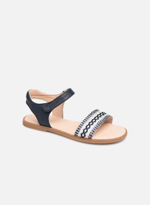 Sandales et nu-pieds Geox J Sandal Karly Girl J9235G Bleu vue détail/paire