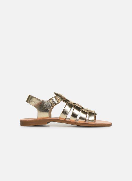 Sandales et nu-pieds Geox J Sandal Violette Gi J929GB Or et bronze vue derrière