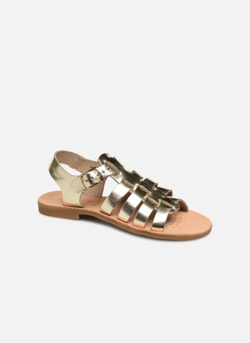 Sandales et nu-pieds Geox J Sandal Violette Gi J929GB Or et bronze vue détail/paire