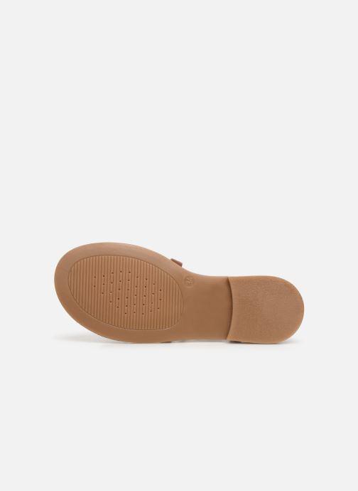 Sandalen Geox J Sandal Violette Gi J929GD Bruin boven