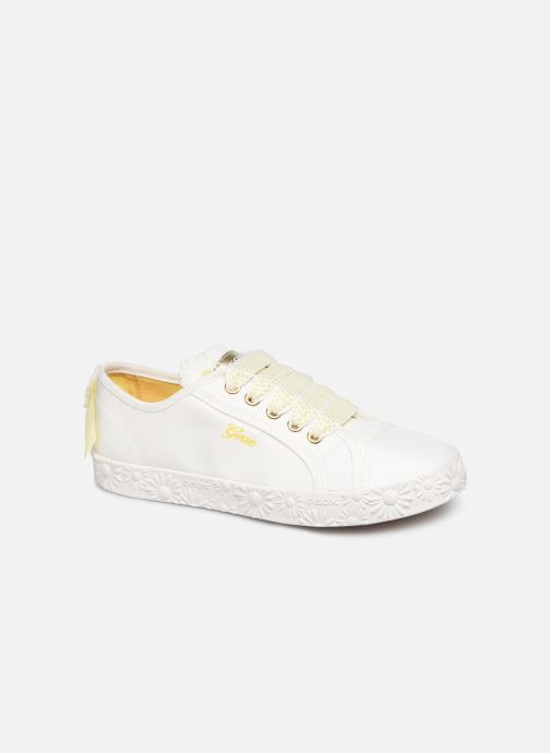 Trainers Geox Jr Ciak Girl J9204K White detailed view/ Pair view