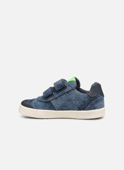 Sneakers Geox B Kilwi Boy B92A7D Blauw voorkant