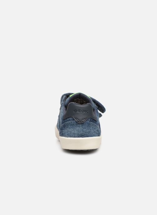 Sneakers Geox B Kilwi Boy B92A7D Blauw rechts