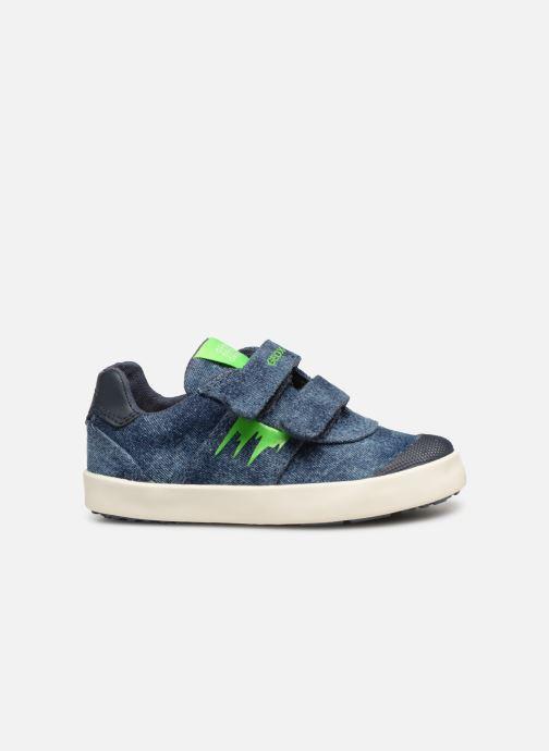 Sneakers Geox B Kilwi Boy B92A7D Blauw achterkant
