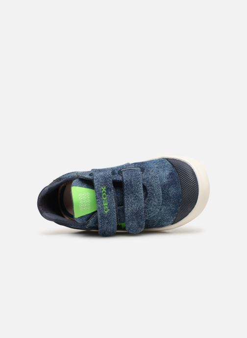 Sneakers Geox B Kilwi Boy B92A7D Blauw links