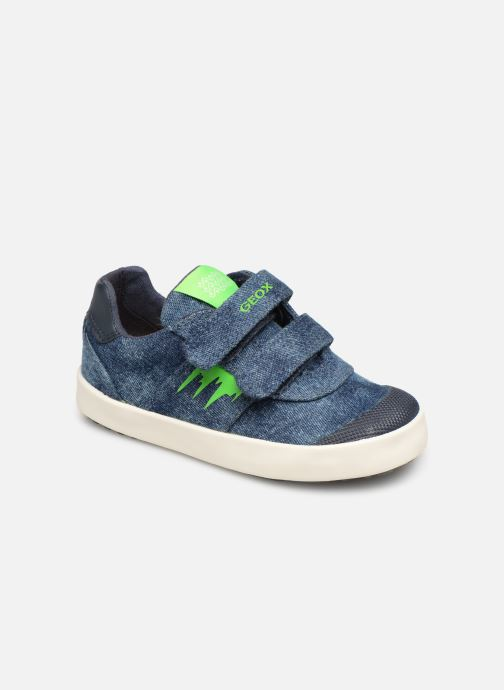 Trainers Geox B Kilwi Boy B92A7D Blue detailed view/ Pair view