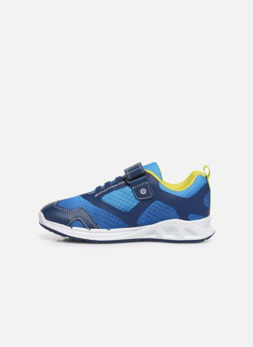Sneakers Geox J Dakin Boy J929FA Azzurro immagine frontale