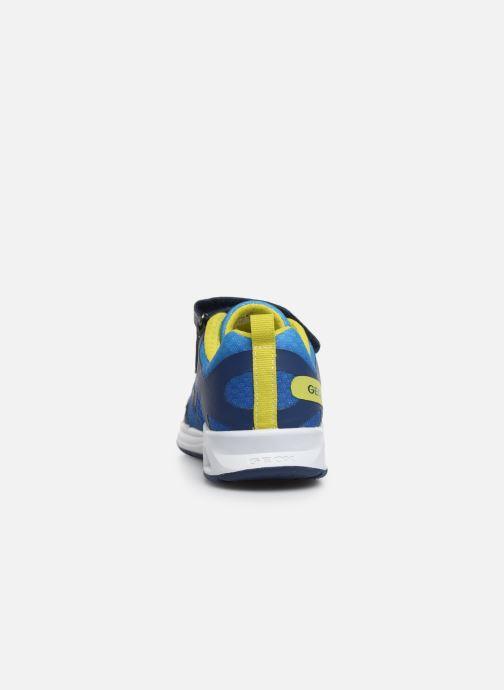Baskets Geox J Dakin Boy J929FA Bleu vue droite
