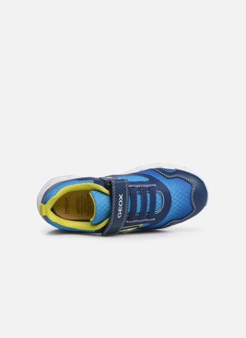 Sneakers Geox J Dakin Boy J929FA Blauw links