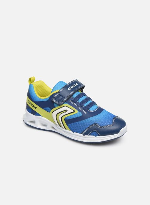 Sneakers Geox J Dakin Boy J929FA Blauw detail