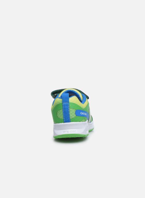 Sneakers Geox J Dakin Boy J929FA Groen rechts