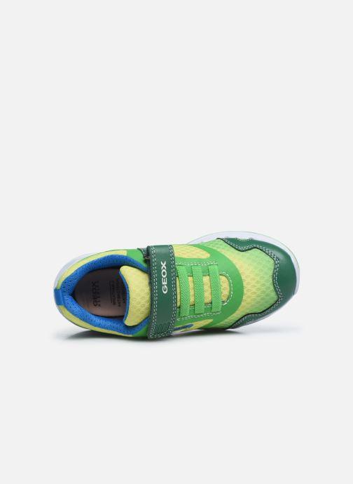 Sneakers Geox J Dakin Boy J929FA Groen links