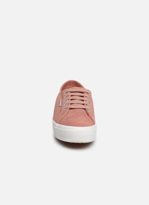 Sneaker Superga 2730 Sueu W rosa schuhe getragen