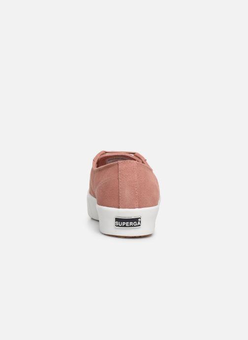 Sneaker Superga 2730 Sueu W rosa ansicht von rechts